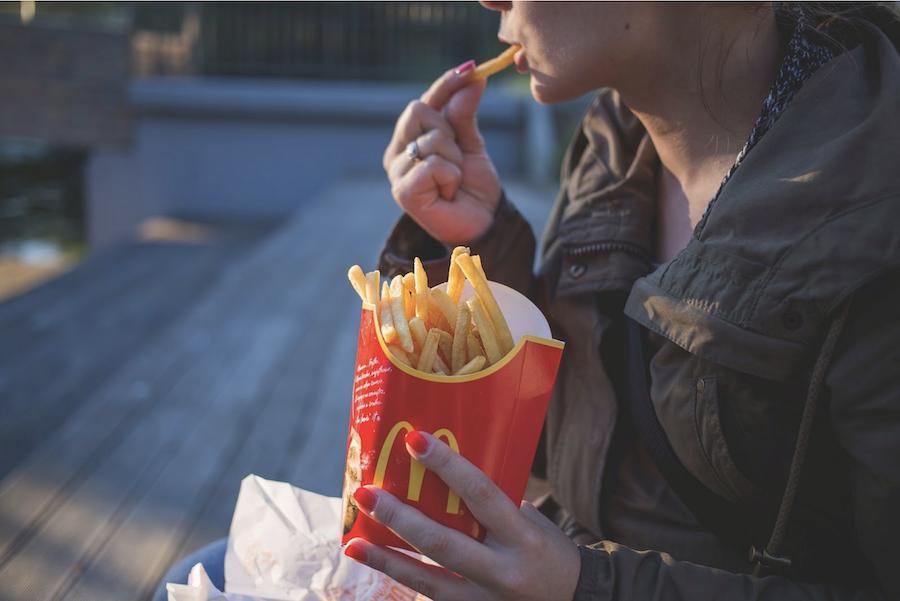 Processed food fast food microwaves